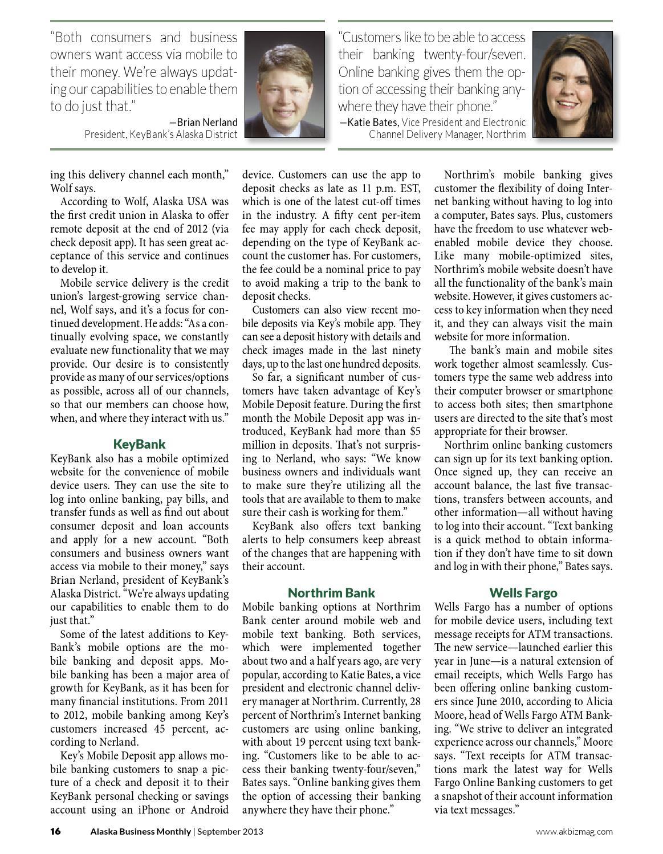 September - 2013 - Alaska Business Monthly by Alaska