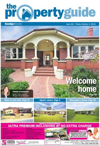 bendigo weekly property guide issue 134 friday october 4 2013 rh issuu com