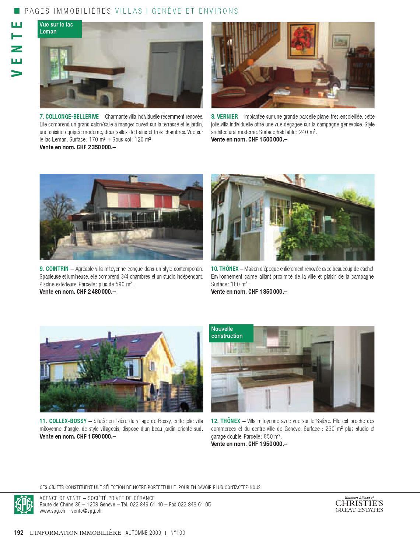 L Information Immobiliere N 100 By Societe Privee De Gerance