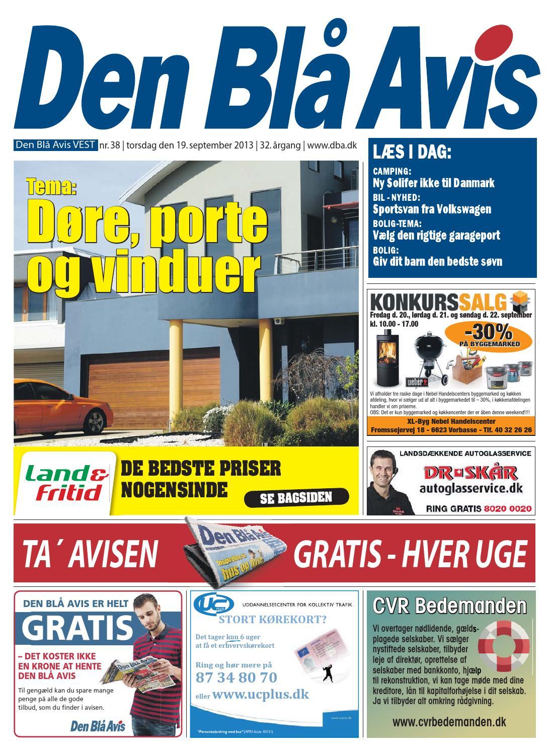 Den Blå Avis VEST 38 2013 by Grafik DBA Issuu