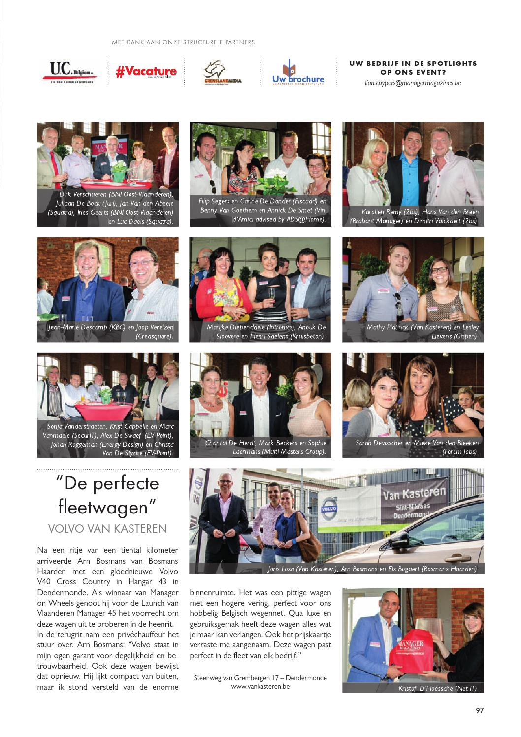 Vlaanderen Manager 46 By Manager Magazines Issuu