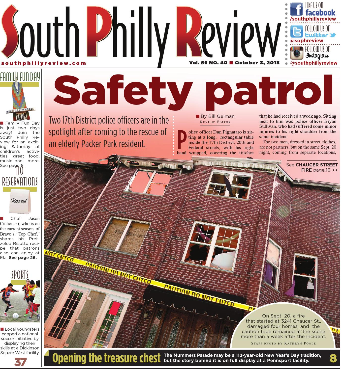South Philly Review 10 3 2013 By