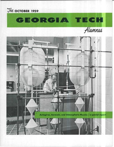 Georgia tech alumni magazine vol 38 no 02 1959 by georgia tech page 1 malvernweather Image collections