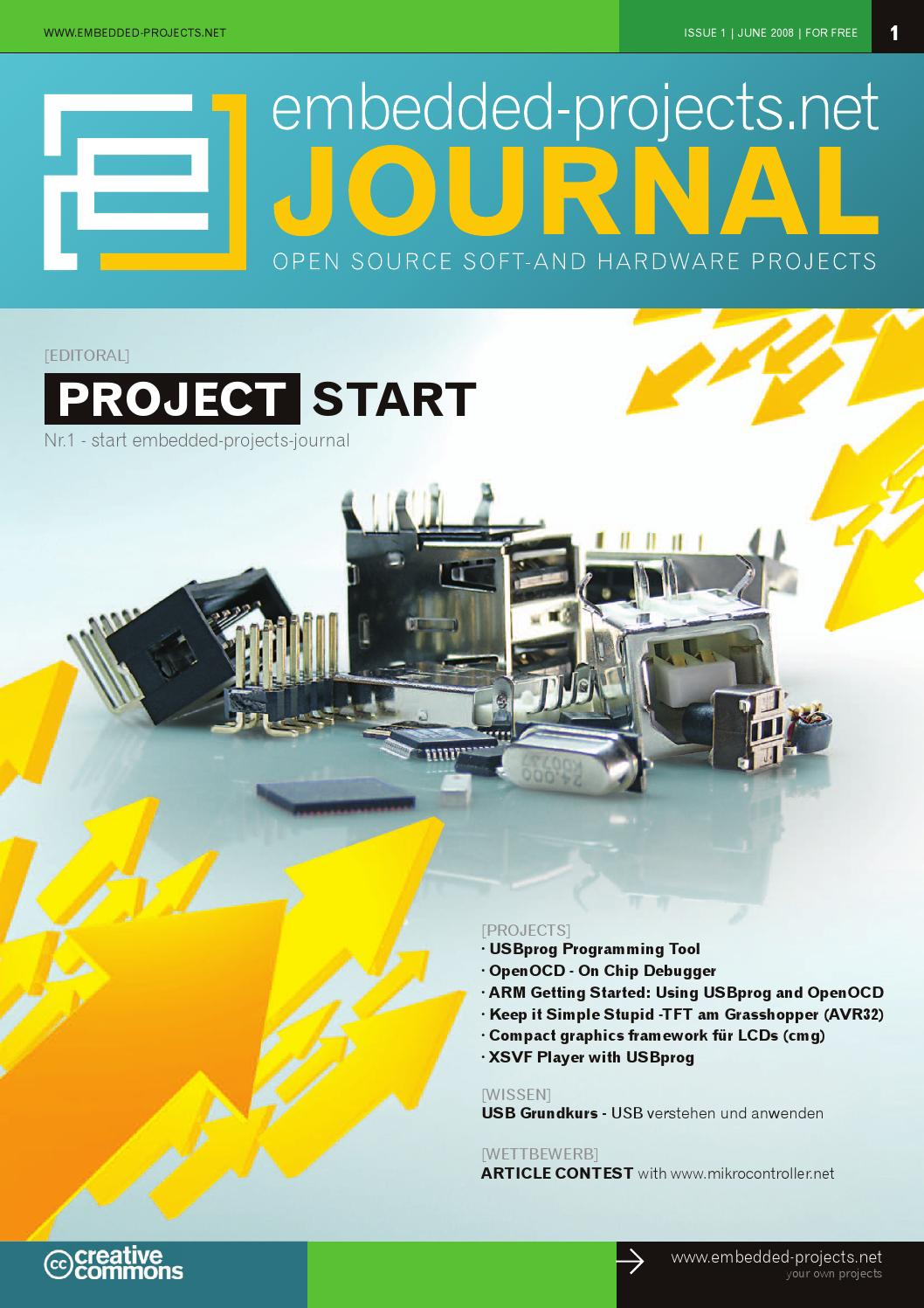 embedded projects Journal Ausgabe 1