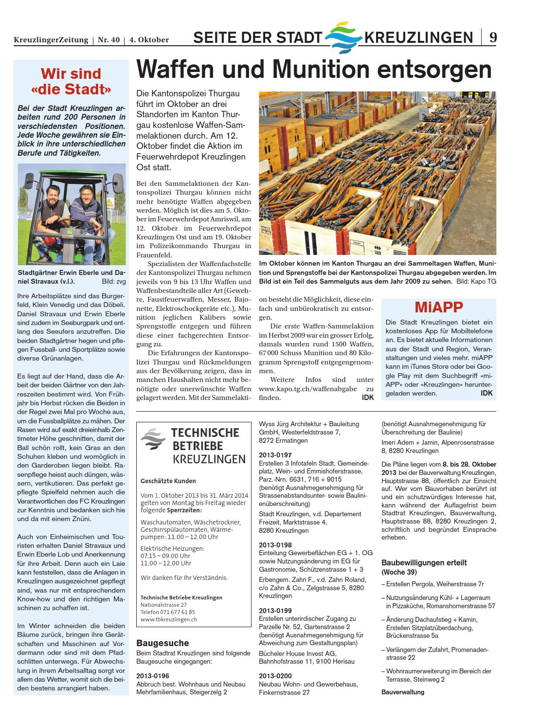 Klz 40 By Kreuzlingerzeitung Issuu