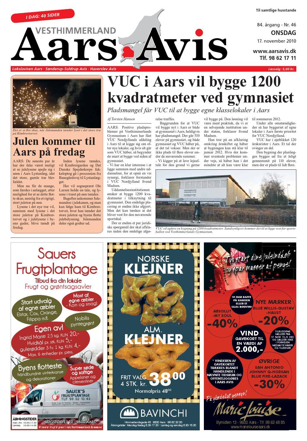 Aars avis 2010 11 17 by Aars Avis - issuu ffac28ff49855