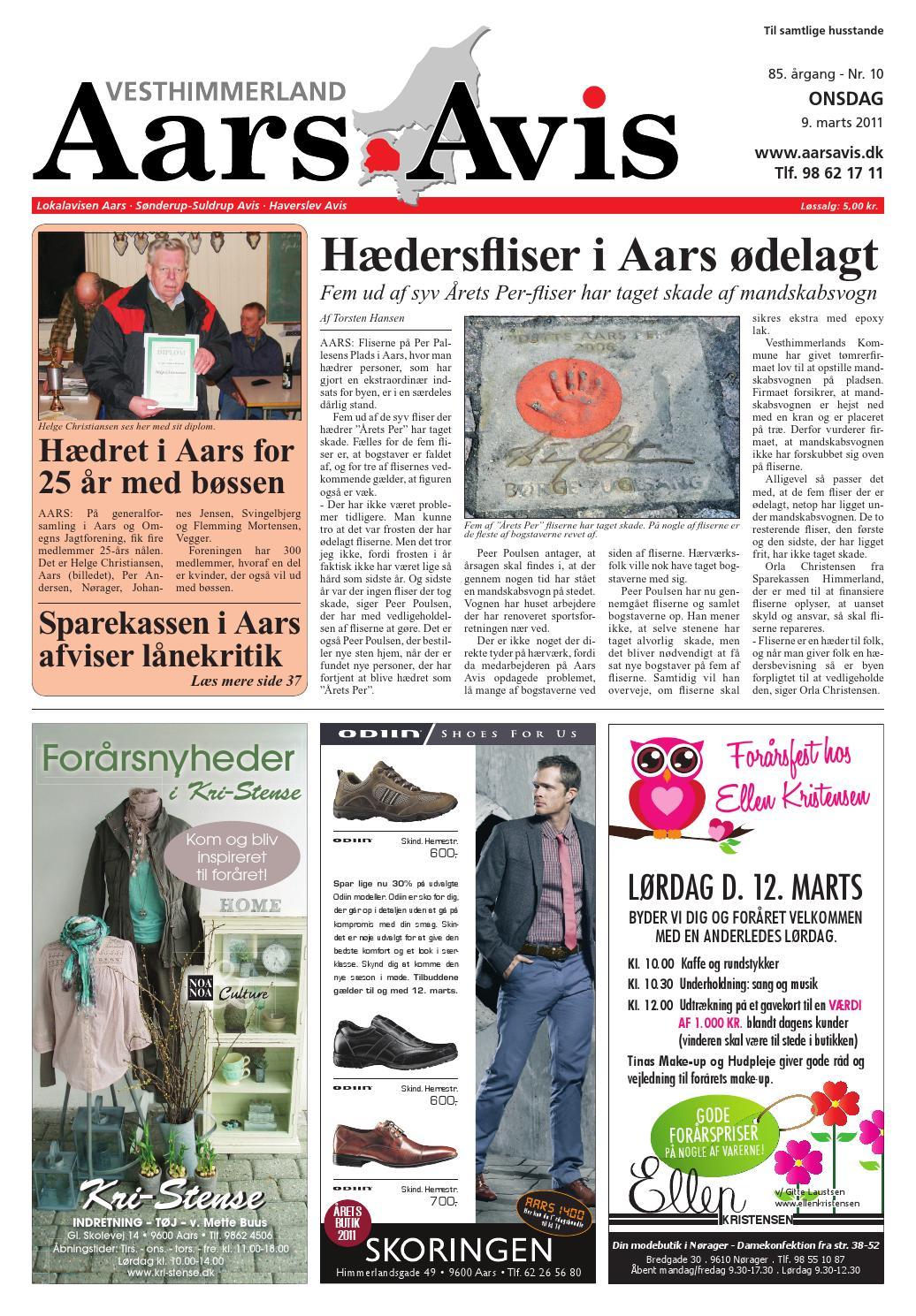 Aars avis 2011 03 09 by Aars Avis - issuu 388bb8b279ea4