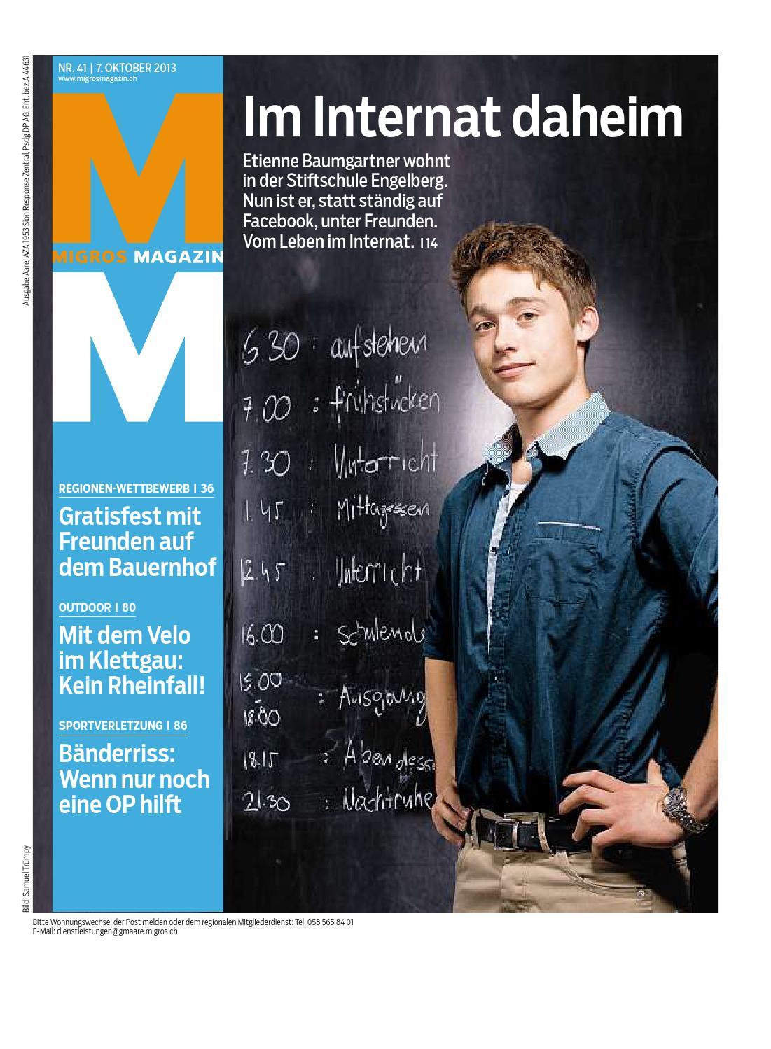 Migros Magazin 41 2013 D Aa By Migros Genossenschafts Bund Issuu