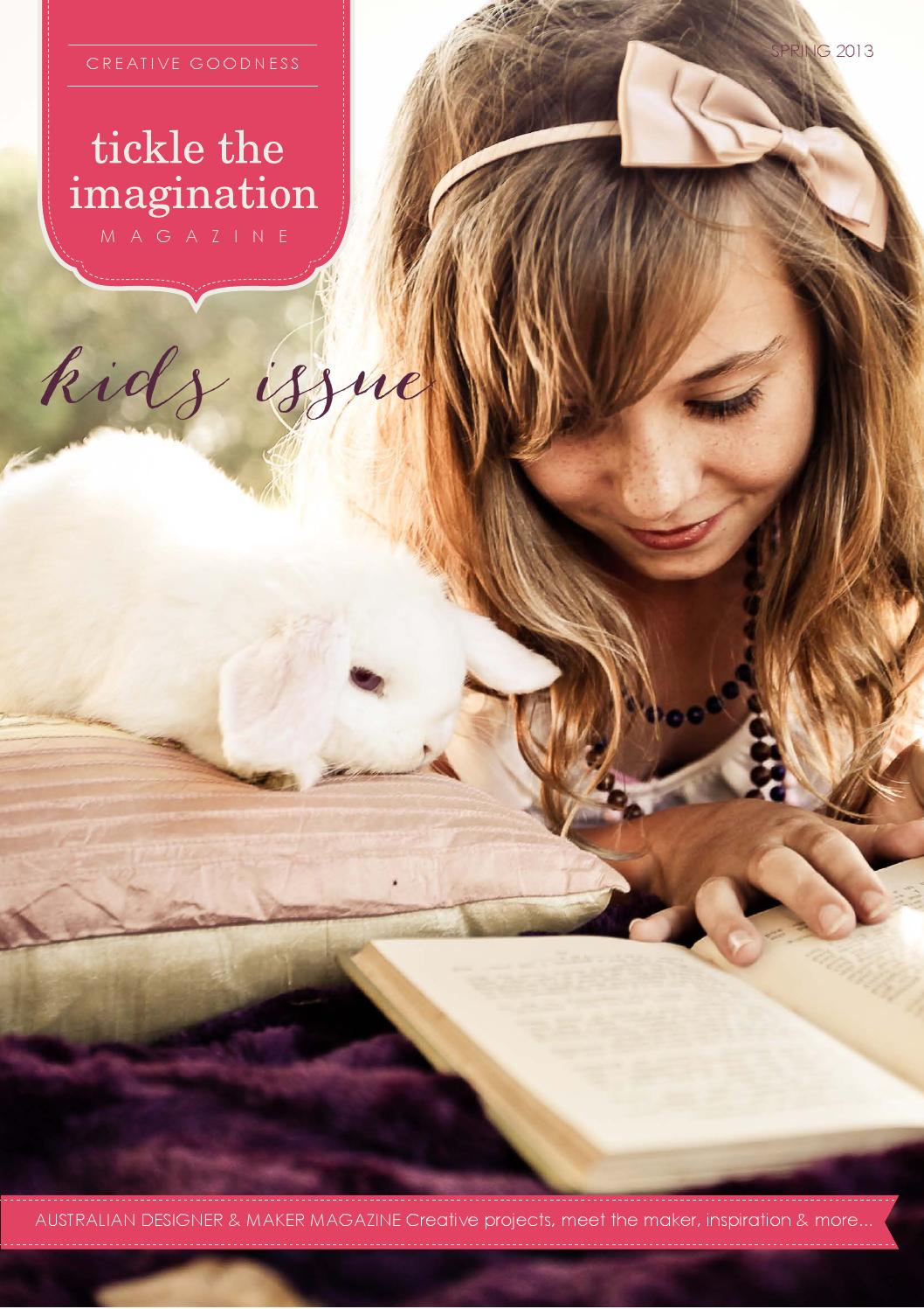 Tickle The Imagination Issue 13 By Magazine Petite Cupcakes Aumy Outer Issuu