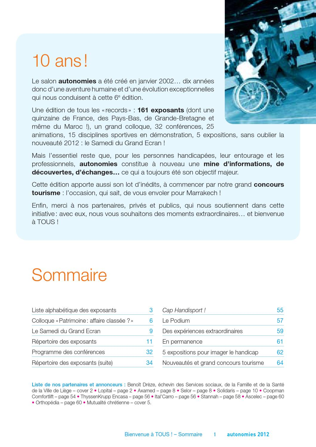Autonomies 2012 - Le catalogue by Gauvry Roland - issuu