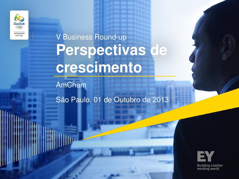 Perspectivas De Crescimento Ey By Amcham Brasil Issuu