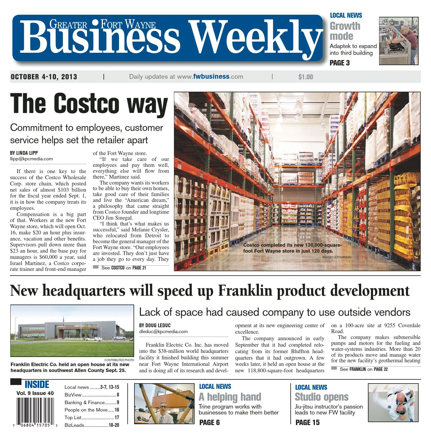 Greater Fort Wayne Business Weekly Oct By KPC Media Group - Microsoft word photography invoice template marshalls online store