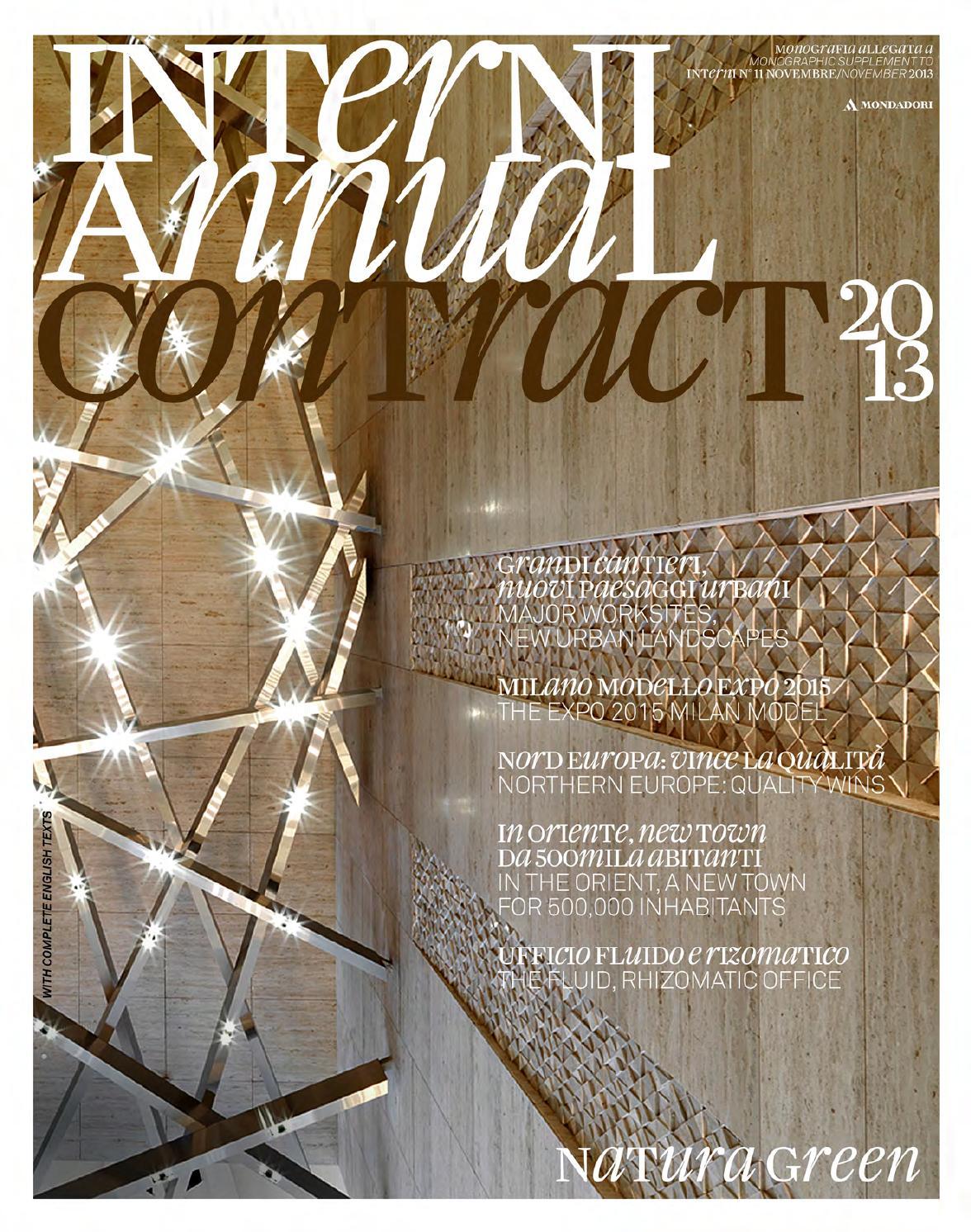 Interni Annual Contract 2013 By Interni Magazine Issuu