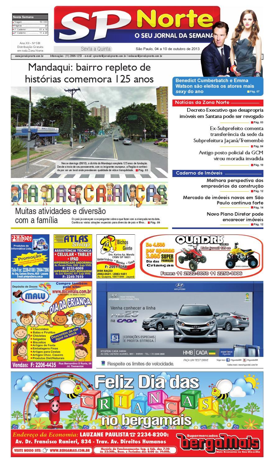8f8f280a77dfc Jornal SP Norte 581 by Grupo SP de jornais - issuu