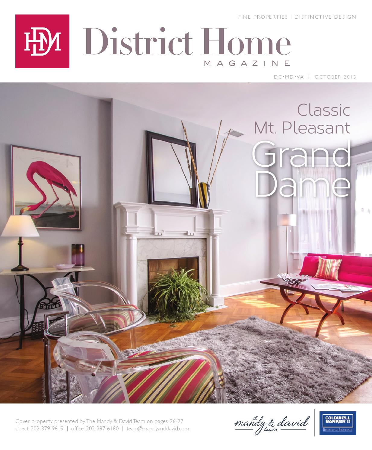 District Home Magazine October 2013 By Reagan Smith Issuu
