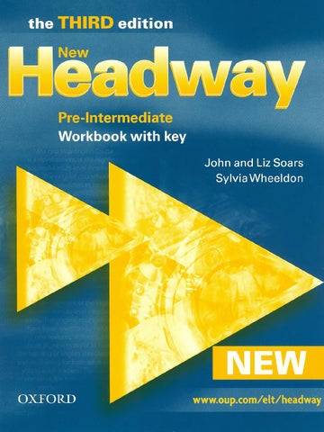 Headway Pre Intermediate Book