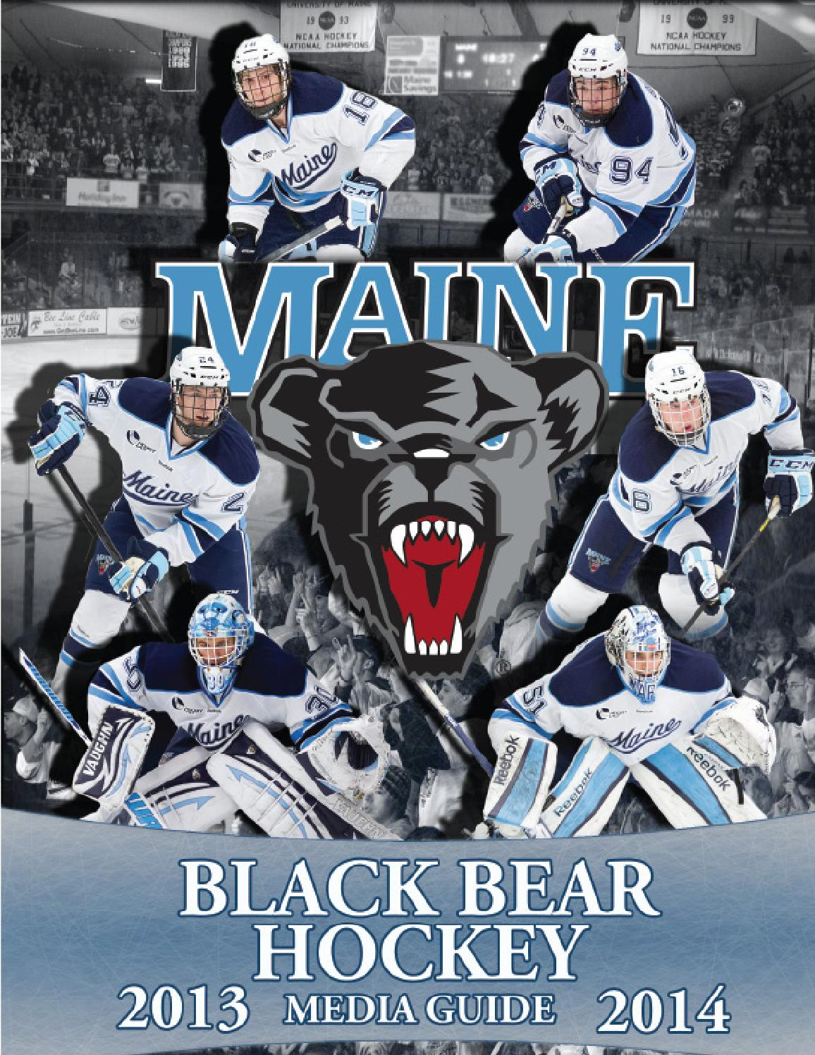 13 14mihguide By University Of Maine Athletics Department
