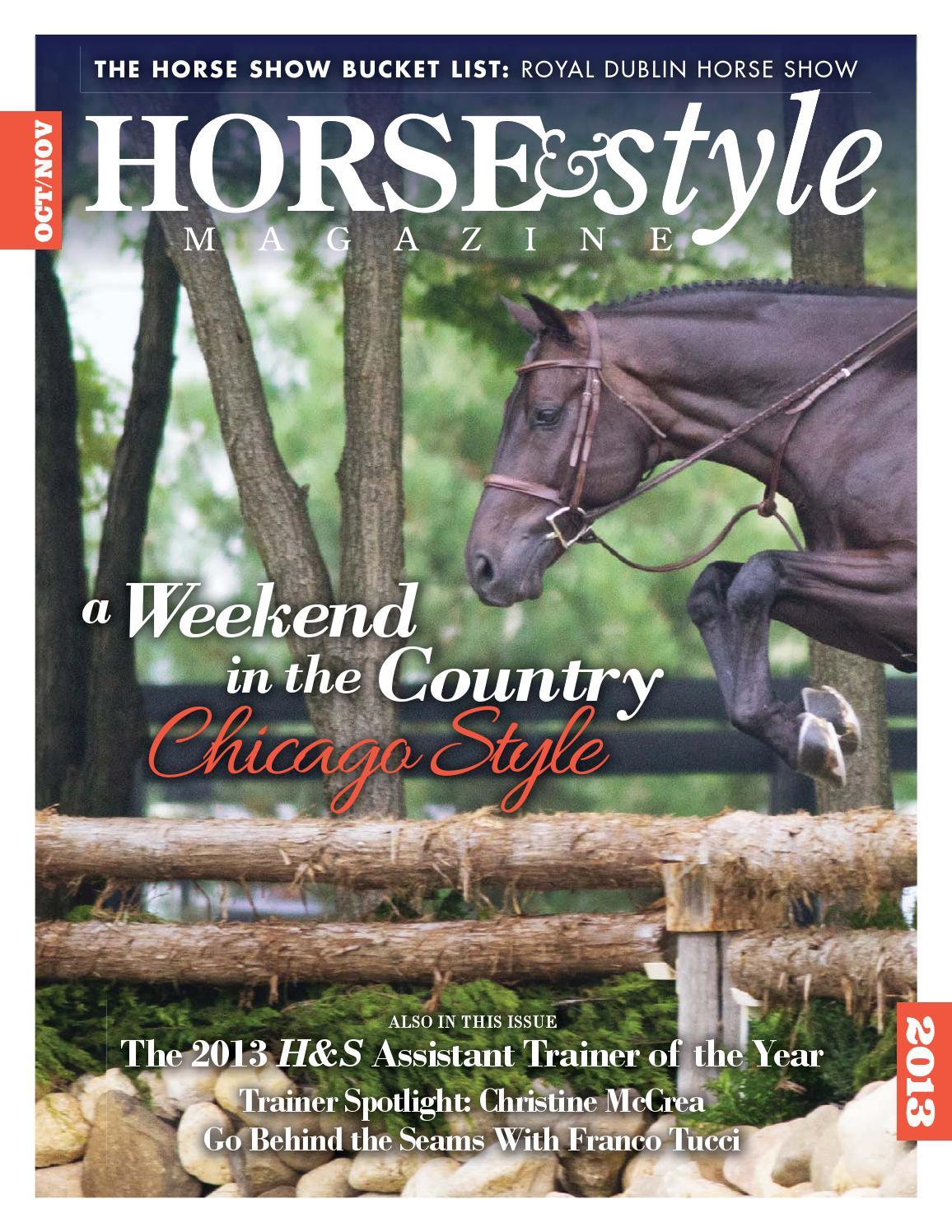 Horse & Style Magazine Oct/Nov 2013 by Horse & Style ...