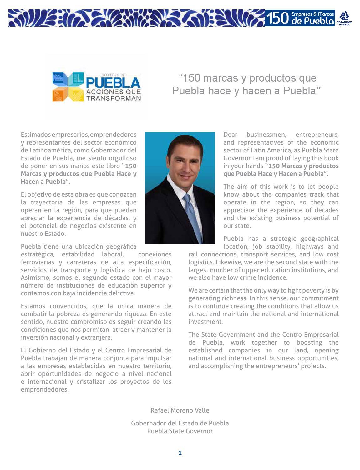 150 empresas que puebla hace y hacen a puebla by Marcas Coparmex - issuu