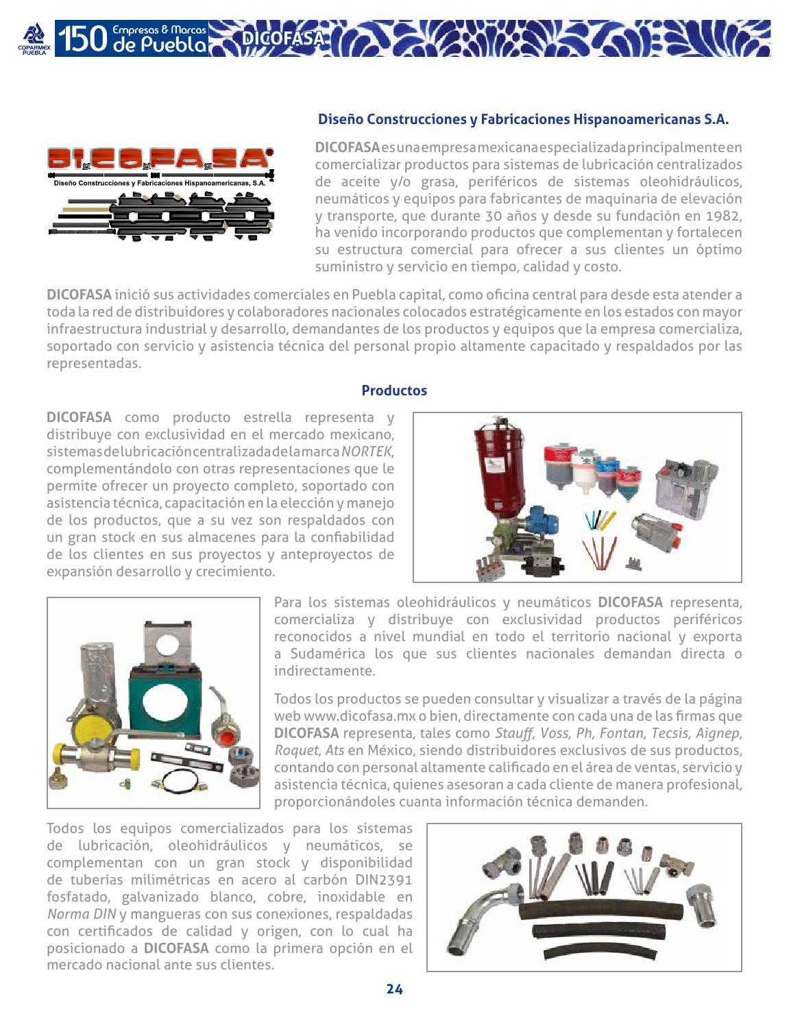 5f1c3d8d795 150 empresas que puebla hace y hacen a puebla by Marcas Coparmex - issuu