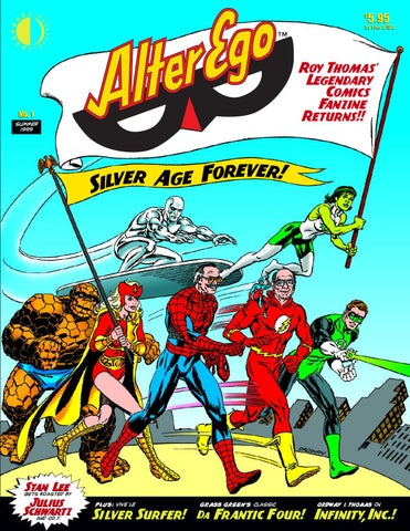 Alter Ego 4 By TwoMorrows Publishing