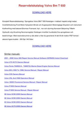 2005 volvo xc90 repair manual pdf