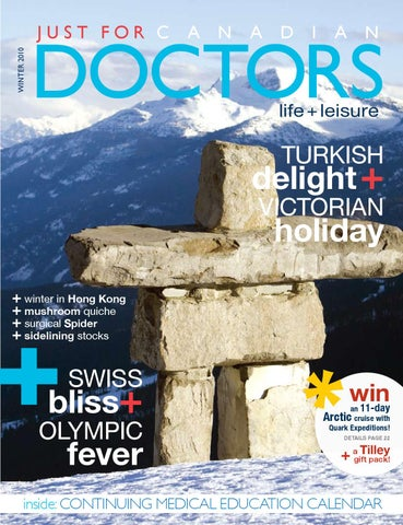 WINTER 2010 by Just For Canadian Doctors - issuu 3a64bd8a9c5f