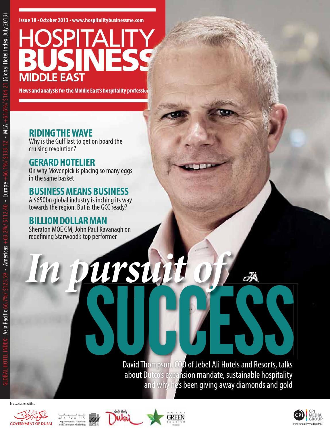 Hospitality Business ME   2013 October