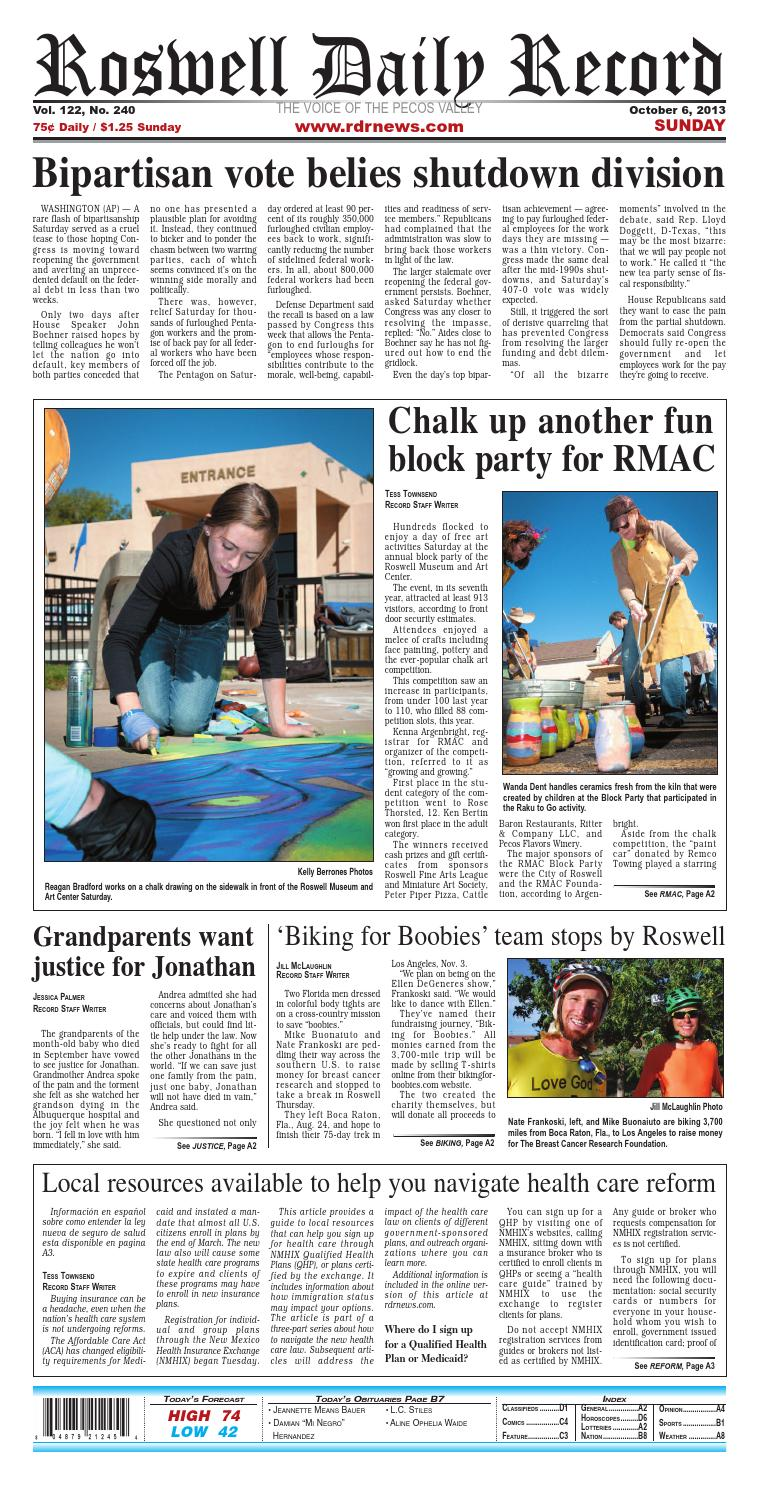 10 06 13 Roswell Daily Record by Roswell Daily Record - issuu
