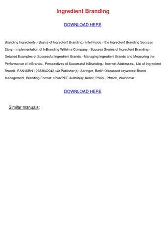 Ingredient branding philip kotler pdf to jpg