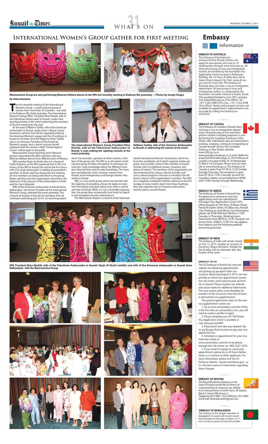 7th Oct 2013 by Kuwait Times - issuu