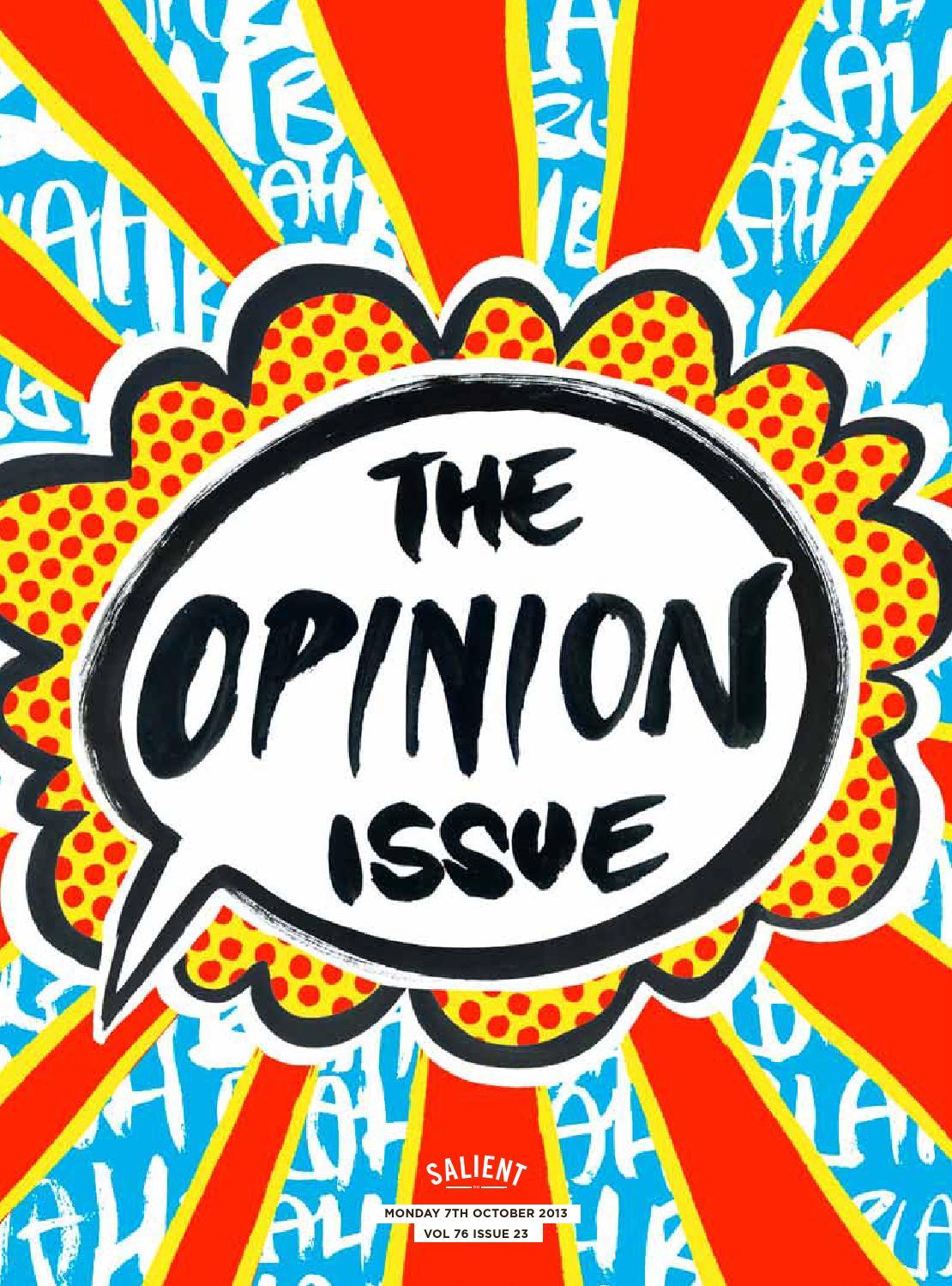 Salient 23 2013 The Opinion Issue By Issuu Nokha Rider Coffee Black Men Cokelat Tua 39