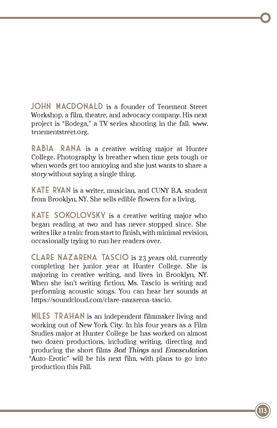 The Olivetree Review No  53 Spring 2013 by The Olivetree Review - issuu
