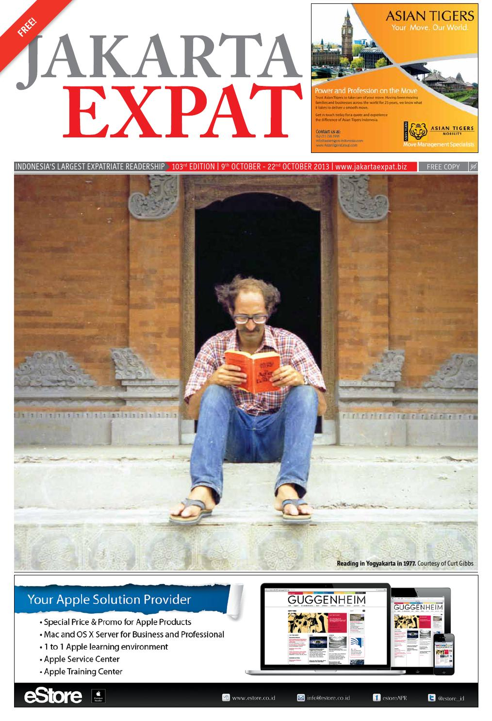 Jakarta Expat - issue 103 - Literature by Jakarta Expat - issuu