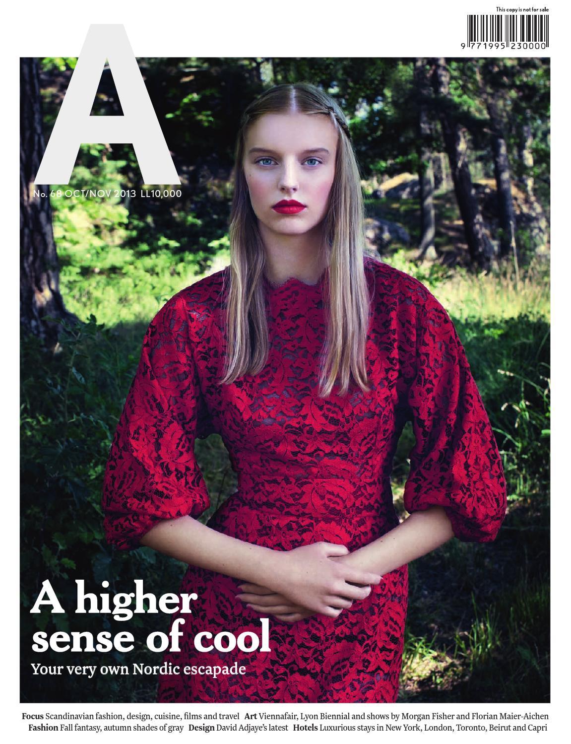 A magazine, Issue 68 by Aïshti - issuu a54f5f2a60d