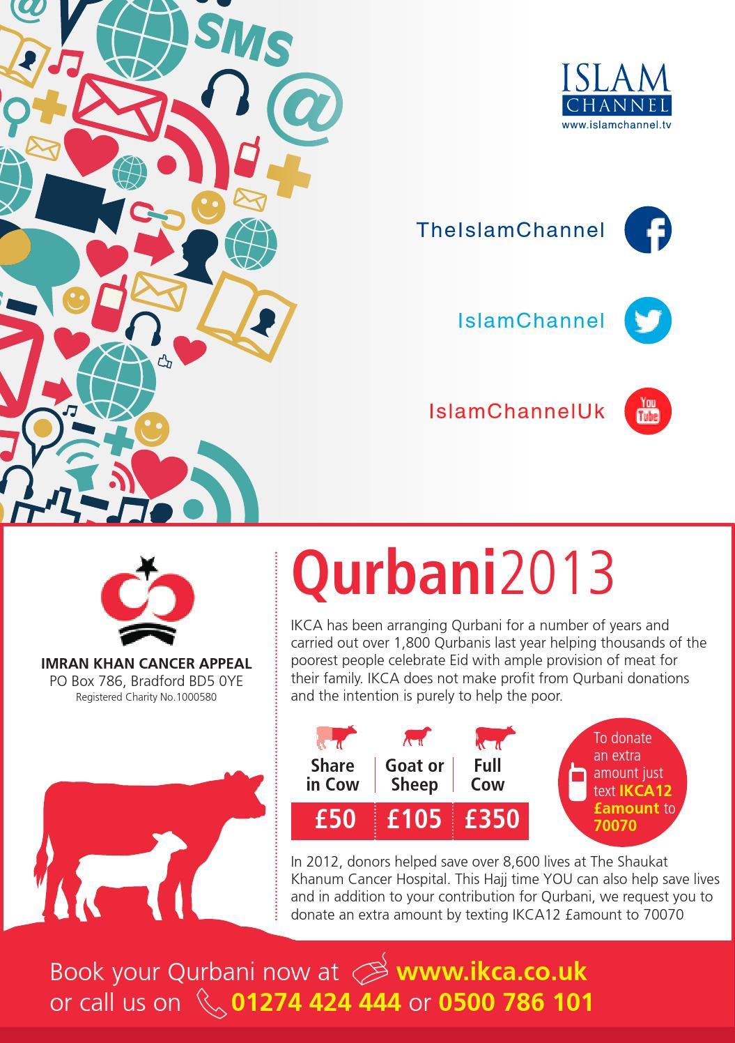 Islam Channel Hajj Brochure 2013 by Islam Channel - issuu