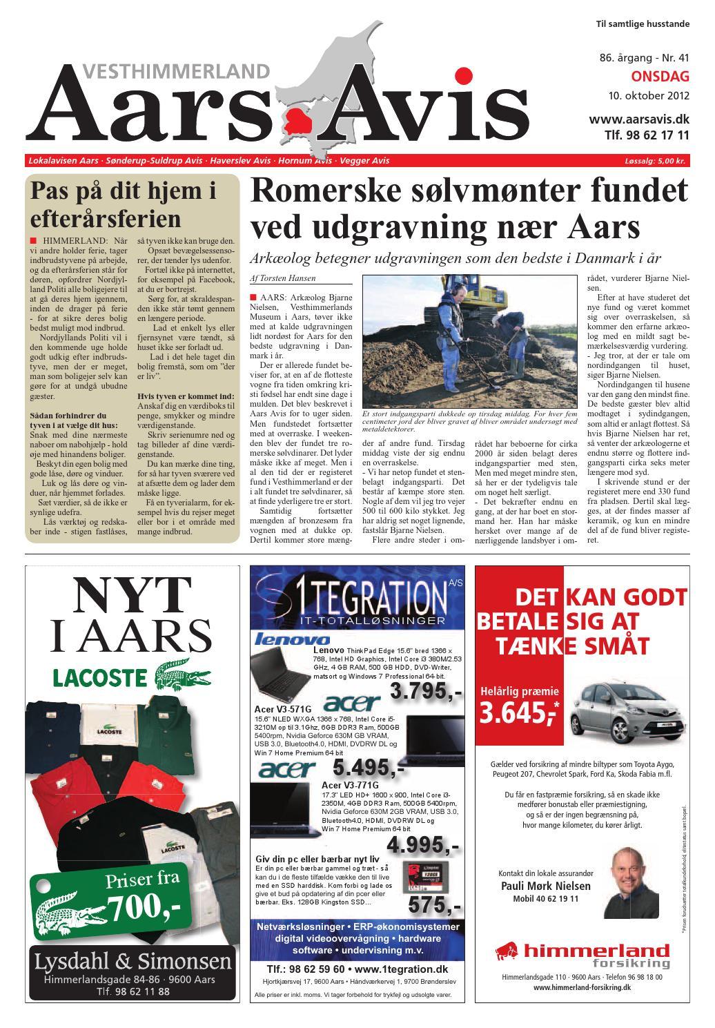 Aars avis 2012 10 10 by Aars Avis - issuu aee24360f8a7b
