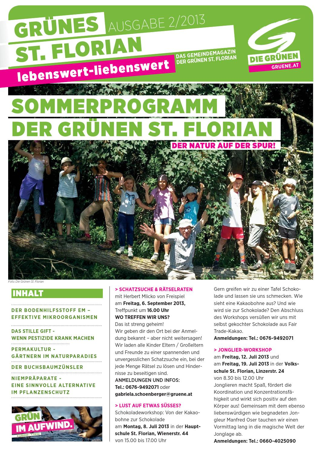 2013/02 Grünes St. Florian By Die Grünen Linz-Land