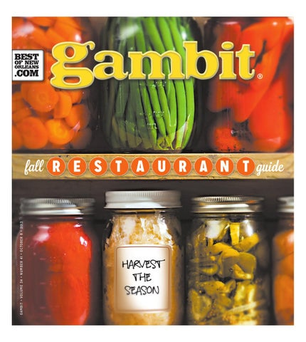 Gambit s 2013 Fall Restaurant Guide by Gambit New Orleans - issuu 7ec9925b64