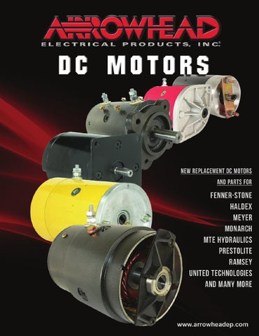 Arrowhead Electrical Products DC Motors Catalog by Arrowhead ... on