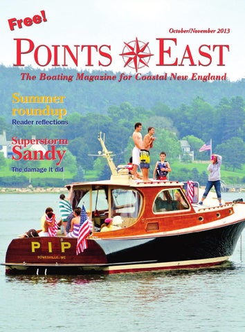 Points East Magazine, October/November 2013 by Points East