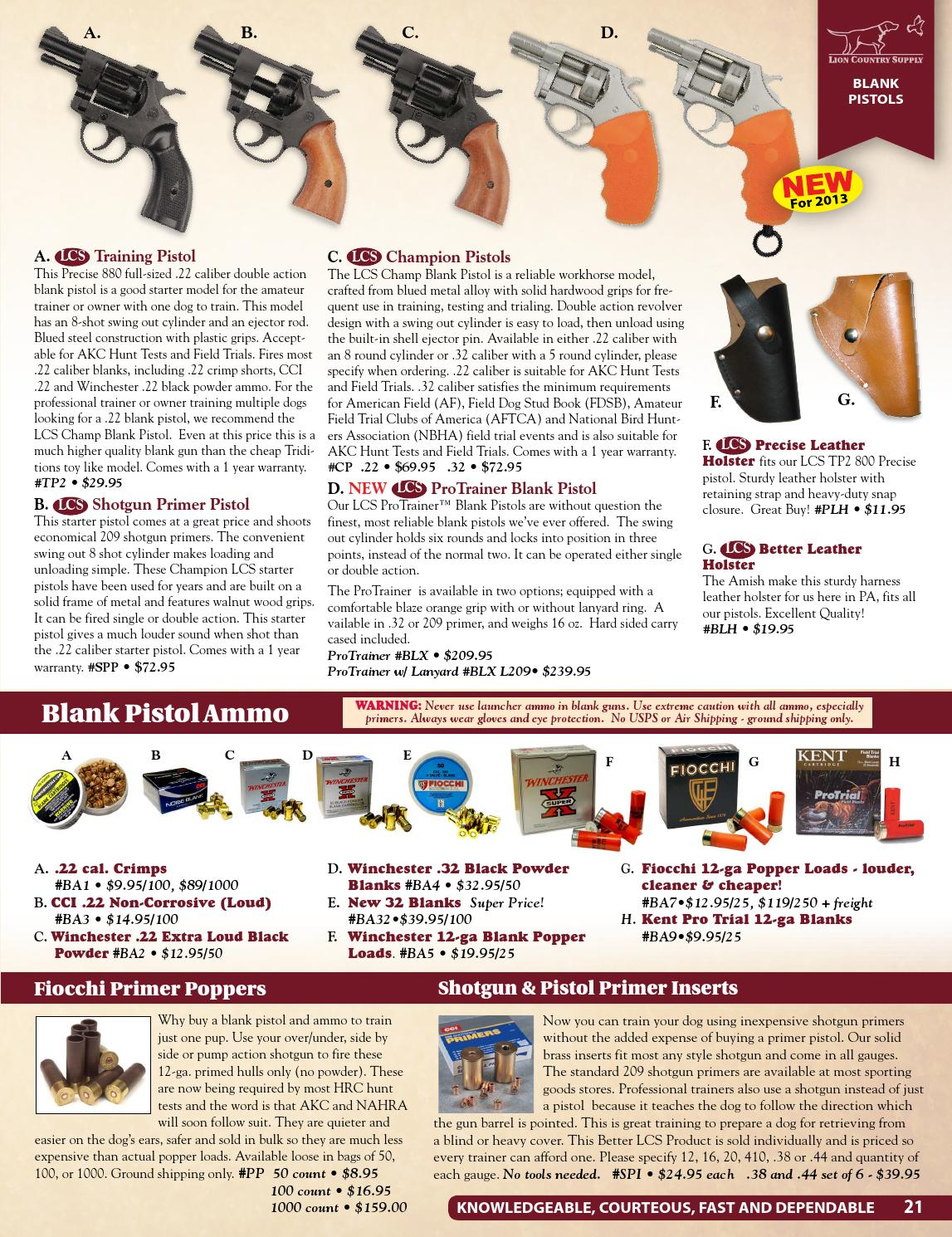 Lion Country Supply Fall & Winter 2013 Catalog by Lion Country Suppl