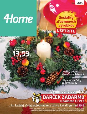 4248370f0e 4Home - katalóg Vianoce by 4home