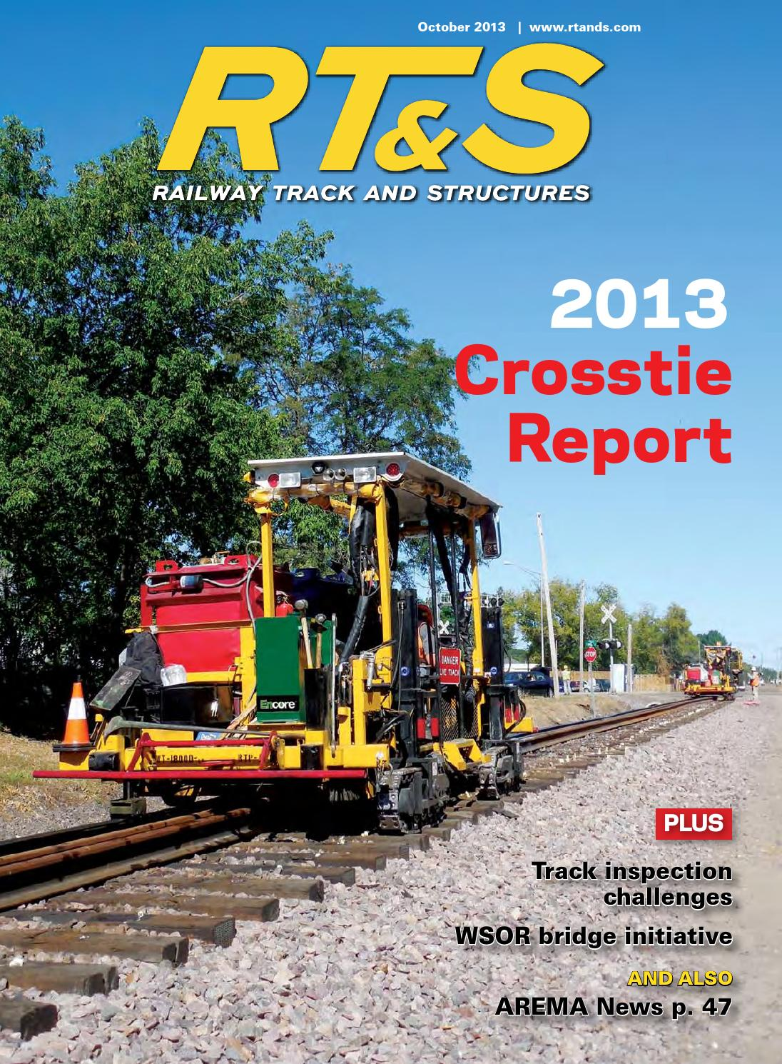 Rts1013 by Railway Track & Structures - issuu