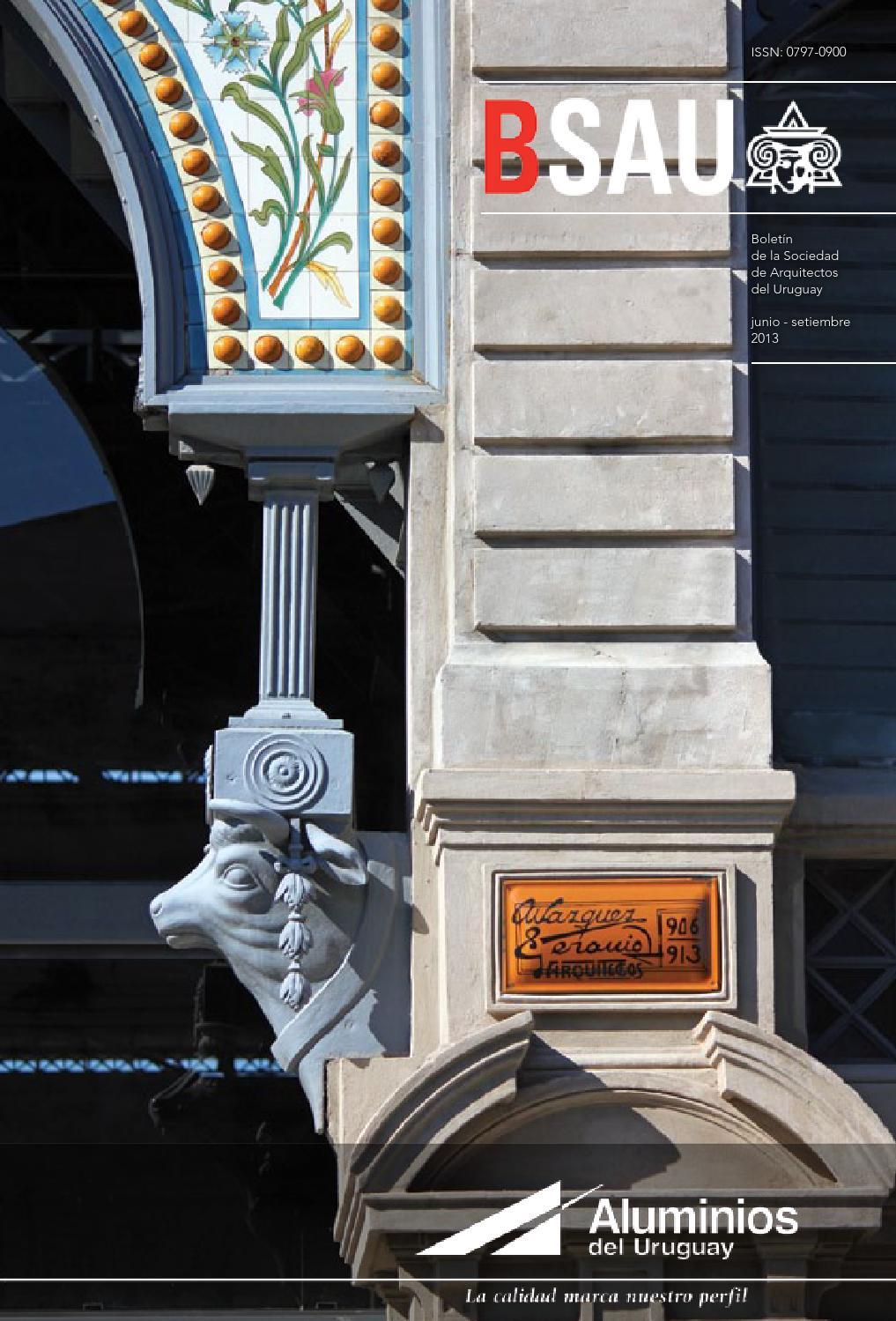 Bsau junio setiembre 2013 by sociedad de arquitectos del - Sociedad de arquitectos ...