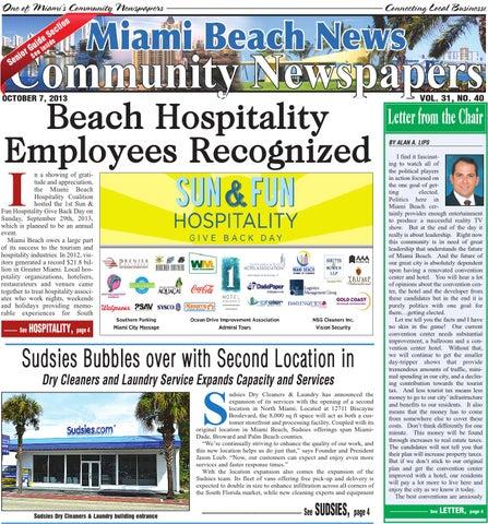 Miami Beach News 10 7 2013 by Community Newspapers - issuu
