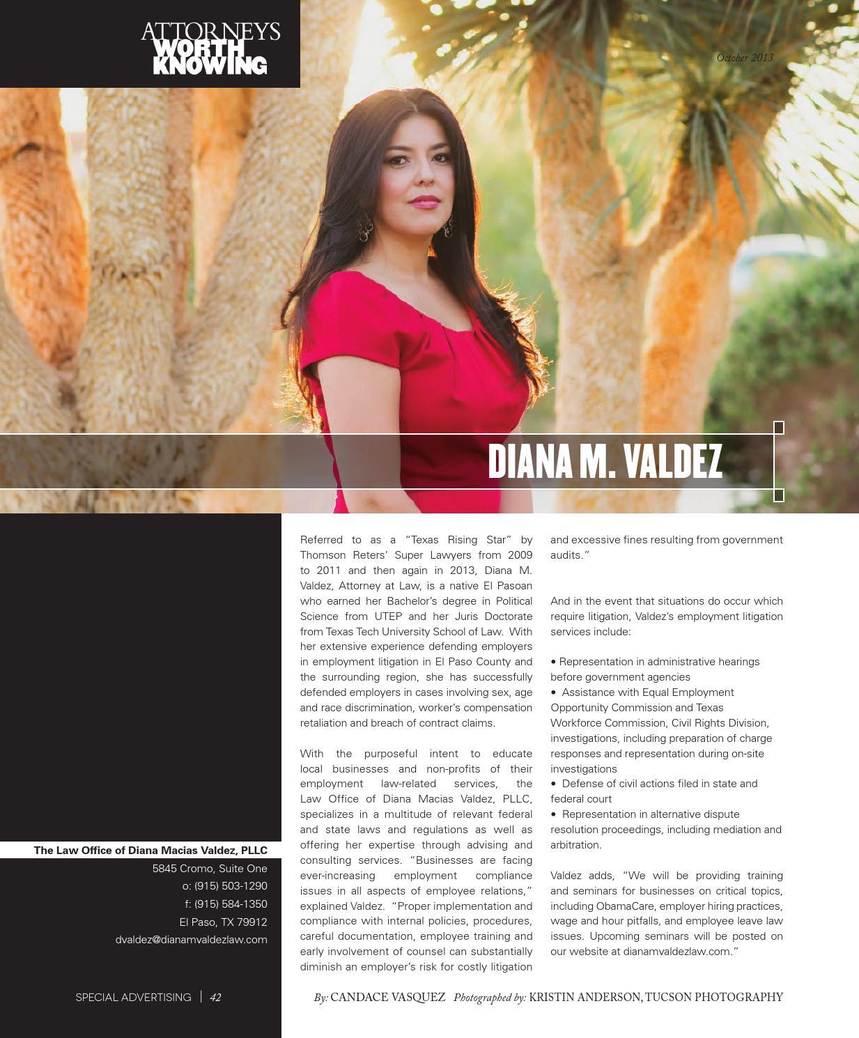 THECITY Magazine El Paso • October 2013 by THECITY Magazine