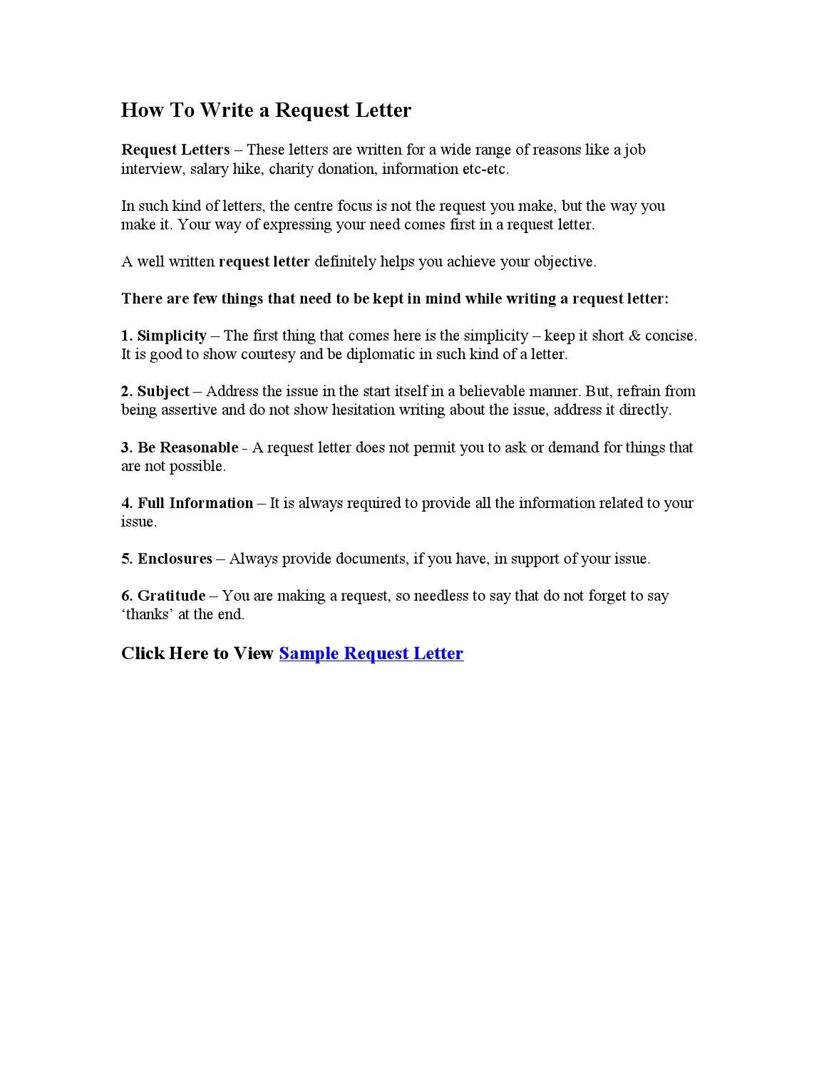 how to write a request letterfound letters  issuu