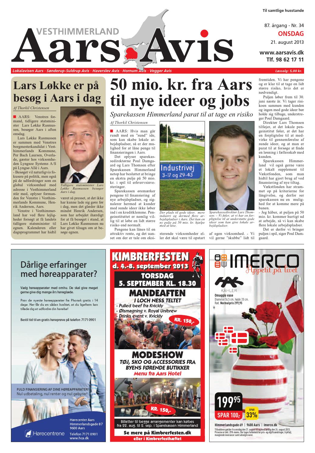 first rate fc66a 4a0e6 Aars avis 2013 08 21 by Aars Avis - issuu