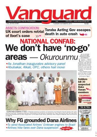 National Confab We Dont Have No Go Areas Okurounmu By Vanguard